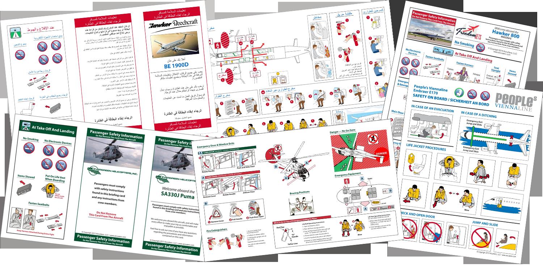 Passenger Briefing Card | AccuAero Aviation Documentation